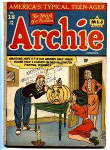 Archie #18-1948-Jack o Lantern cover Veronica Golden-Age