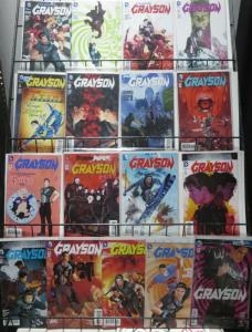GRAYSON COLLECTION! (DC, 2014) 17 BOOKS! Tim Seeley/Tom King/Mikel Janin