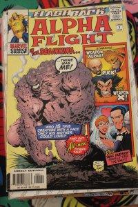 Alpha Flight in the Beginning -1 F/VF
