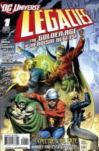 DC Universe Legacies #1 VF/NM; DC | save on shipping - details inside