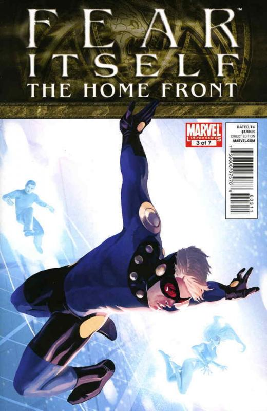 Fear Itself: The Home Front #3 VF/NM; Marvel | save on shipping - details inside