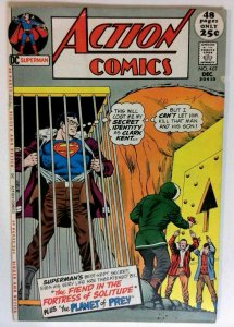 Action #407 DC 1971 VG/FN Bronze Age Comic Book Giant Issue Superman 1st Print