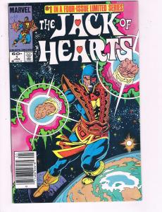 The Jack Of Hearts #1 VF Marvel Four Issue Limited Series Comic Book DE8