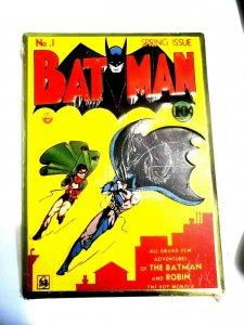Batman #1 Comic Cover Metal Sign DC Comics Superhero 12.5 X 16 New