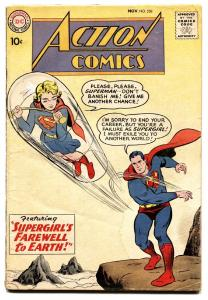 ACTION COMICS #258 comic book SUPERGIRL 1959-SUPERMAN-DC SILVER AGE