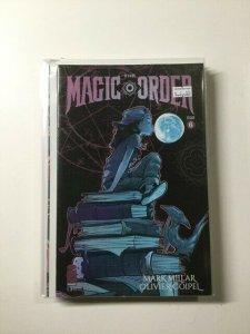 Magic Order 6 Near Mint Image Comics HPA