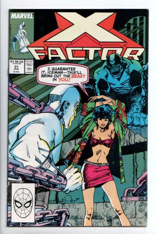 X-Factor #31 - Freedom Force (Marvel, 1988) - VF/NM