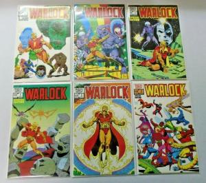Warlock set #1 to #6 Special Edition all 6 different books avg 8.5 VF+ (1983)