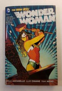 WONDER WOMAN VOL.2 GUTS NEW 52 HARD COVER GRAPHIC NOVEL DC NM