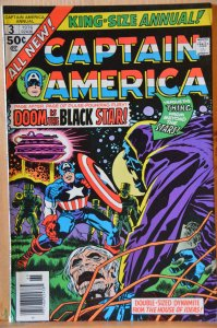 Captain America Annual #3 (1976) High Grade! Early Cap!!