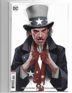 FREEDOM FIGHTERS # 1 - NM/NM+ COVER B BEN OLIVER VARIANT COVER DC COMICS