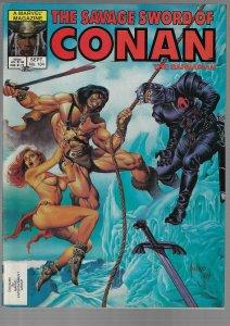 Savage Sword of Conan #104 (Marvel, 1984)