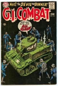 GI Combat 131 Sep 1968 VG (4.0)