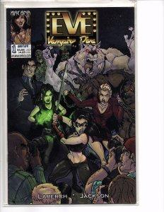 Arcana Comics Eve Vampire Diva #1 & 2