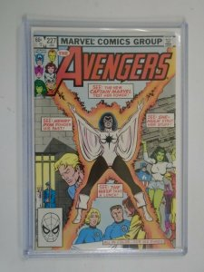 Avengers #227 Direct edition 8.0 VF (1983 1st Series)
