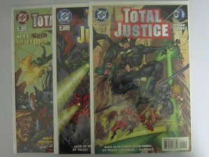 Total Justice (1996) #1-3 - VF or Better - 1996
