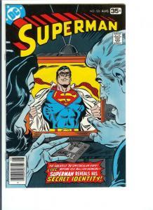 Superman #326 - Bronze Age - Sept. 1981 (VF)