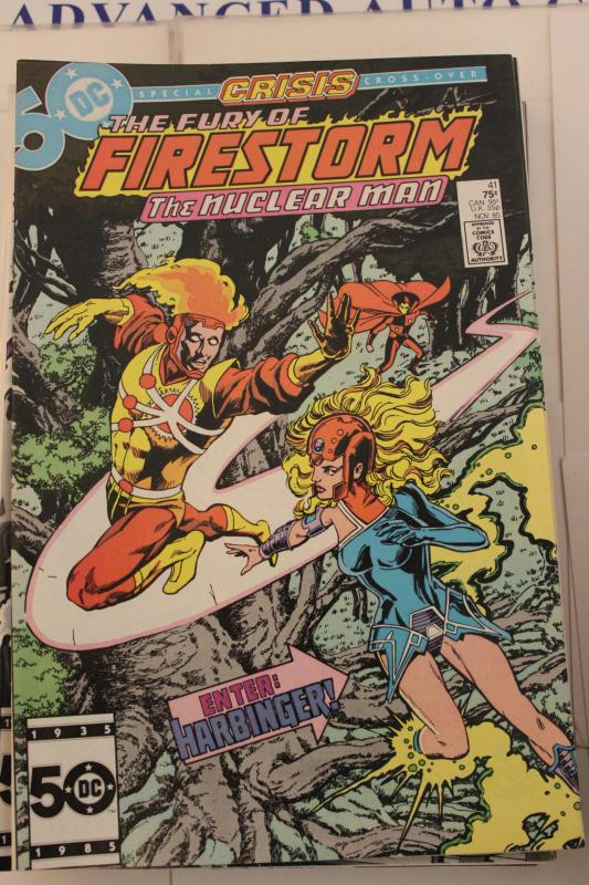 The Fury of Firestorm  41 9-0-vf-nm
