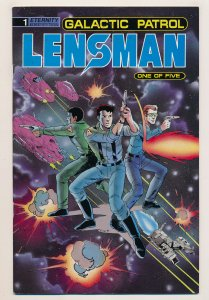 Lensman Galactic Patrol (1990) #1 NM