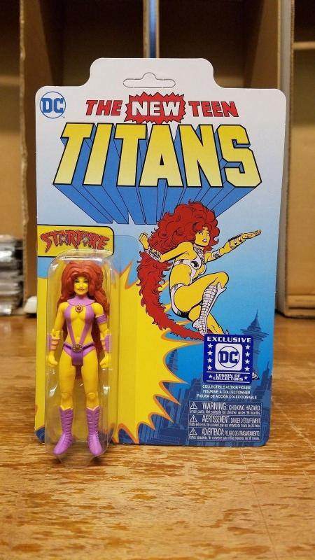 Starfire Collectible Figure DC LEGION OF COLLECTORS EXCL New Titans Funko TB1
