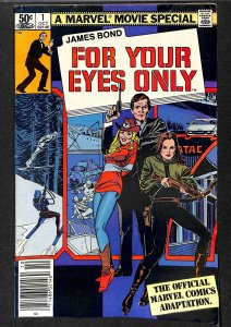 James Bond For Your Eyes Only #1 (1981)