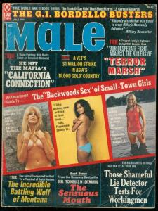 MALE MARCH 1973-TERROR MARSH-NAZI-BORDELLO-SWINDLERS VG