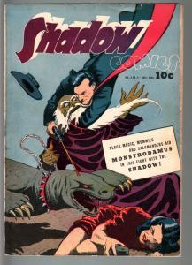 SHADOW COMICS V.3 #4-1943-VAMPIRE-BLACK MAGIC-GOLDEN AGE-FN minus FN-