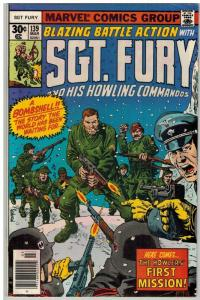 SERGEANT FURY 139 VG-F Mar. 1977