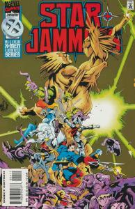 Starjammers #4 FN; Marvel | save on shipping - details inside