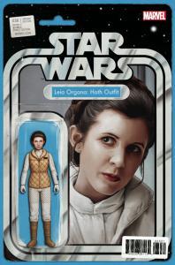 Star Wars #36 Action Figure Variant Comic Book (Marvel, 2017) NM