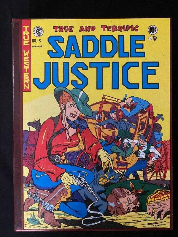 Saddle Justice / Gunfighter Complete EC Library hardcover set 1996
