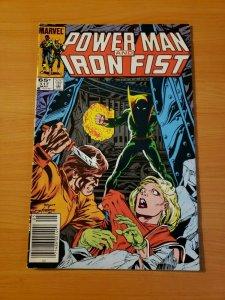 Power Man and Iron Fist #117 Newsstand ~ NEAR MINT NM ~ 1985 Marvel COMICS