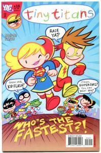 TINY TITANS #16, NM-, SuperGirl, WonderGirl, Kid Flash, 2008, more DC in store