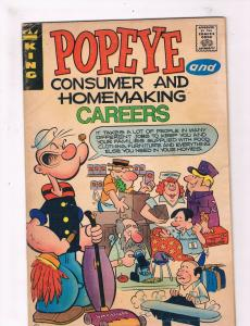 Popeye & Consumer & Homemaking Careers VG King Comic Book Wildman DE2