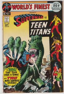 World's Finest #205 (Sep-71) NM- High-Grade Superman, Batman, Robin
