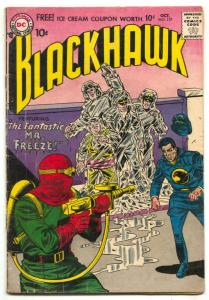 Blackhawk #117 1957-MR FREEZE prototype VG-