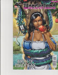 Wonderland Birth of Madness One-Shot Cover D Zenescope Comic GFT NM Leister