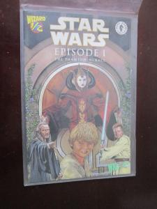 Star Wars Episode 1 Phantom Menace (1999) Wizard 1/2 #1A - 8.0 VF - 1999