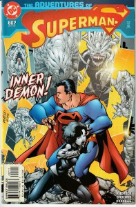 Adventures of Superman # 607, 610,613,617,618 Argent From Titans, Myxy Twins