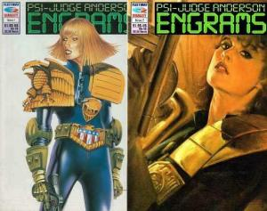 PSI JUDGE ANDERSON ENGRAMS (1992 F/Q) 1-2 + PSI FILES