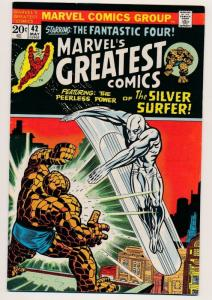 Marvel's Greatest Comics #42 ~ Fantastic Four Marvel Comics ~ FN 1973 (HX620)