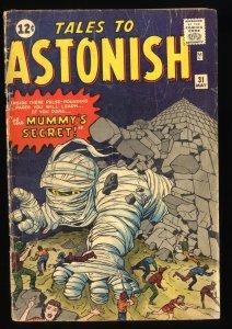 Tales To Astonish #31 Read Description!