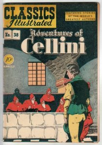 Classics Illustrated #38 (Jun-47) FN- Mid-Grade Celini