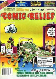 Comic Relief (magazine) #68 FN; Page One | save on shipping - details inside