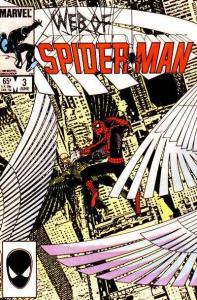 Web of Spider-Man (1985 series) #3, VF+ (Stock photo)
