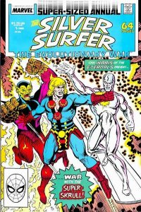 Silver Surfer (1987 series) Annual #1, VF (Stock photo)