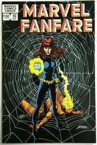 MARVEL FANFARE#10 VF/NM 1983 BLACK WIDOW SOLO MARVEL BRONZE AGE COMICS