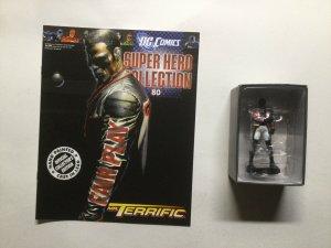 Mr.Terrific Super Hero Collection 80 Lead Figure and Magazine Dc Eaglemoss