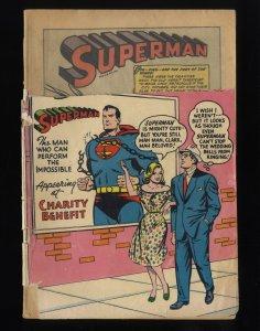 Superman #94 Fair 1.0 1st Hermit!