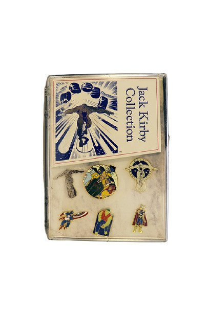 VINTAGE 1990s Jack Kirby Marvel Pin Collection Set Ltd Edition 2500